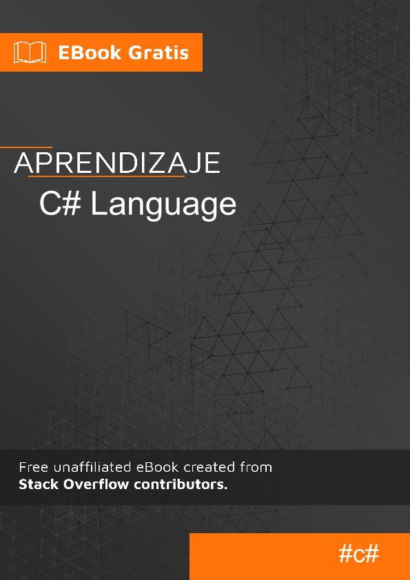 Comenzando con el lenguaje C#