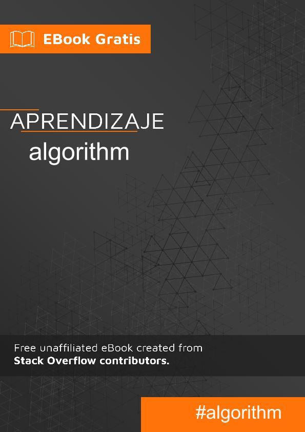 Empezando con el algoritmo