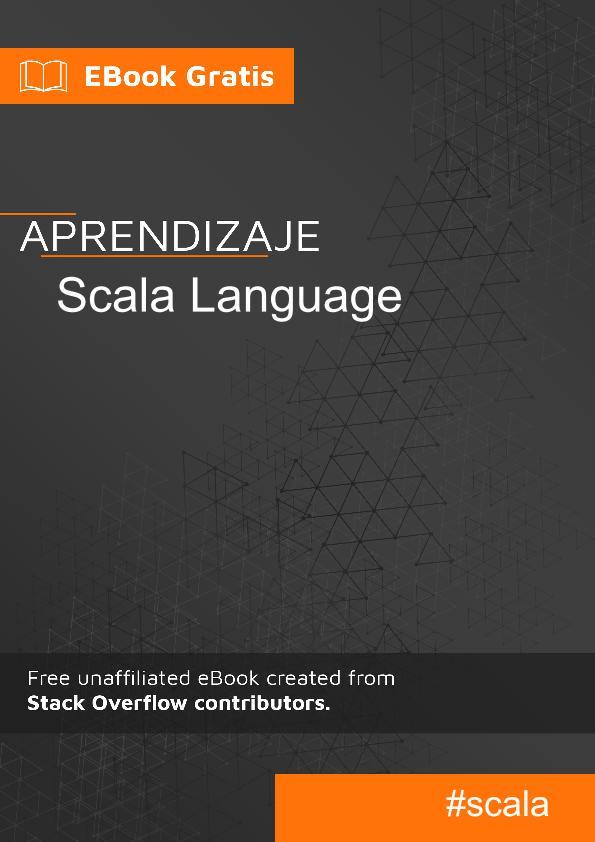 Empezando con lenguaje Scala