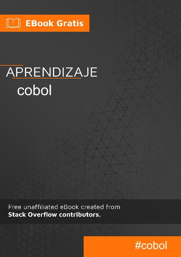 Empezando con Cobol