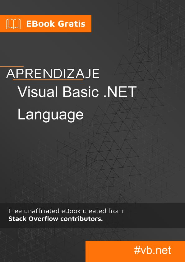 Aprende lenguaje VB.NET