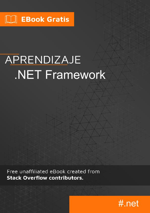 Empezando con .NET Framework