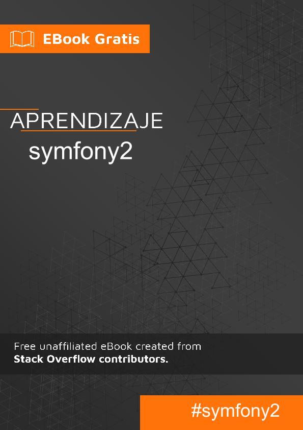 Empezando con symfony2