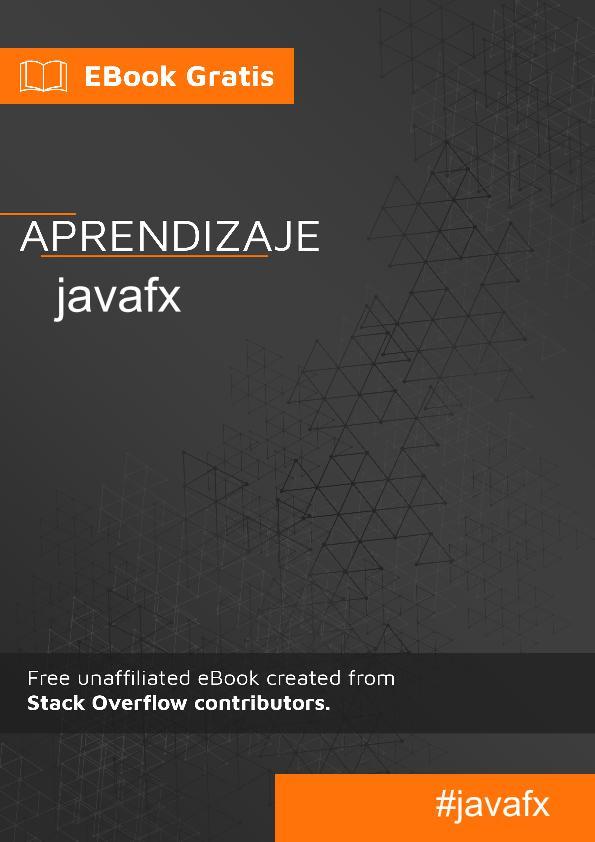 Empezando con javafx