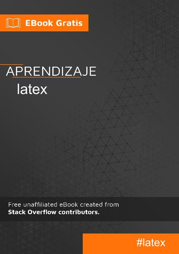 Empezando con el LaTeX
