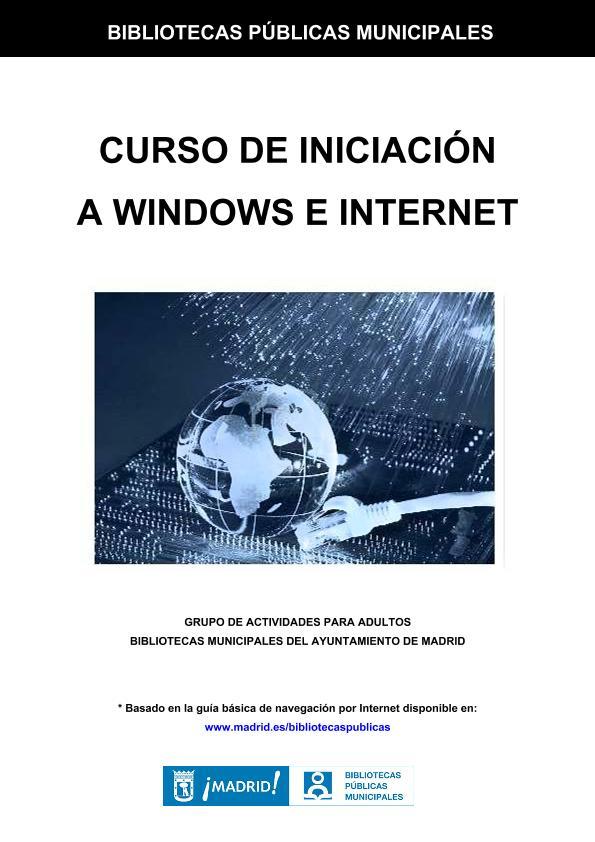 Curso de iniciación a Windows e Internet
