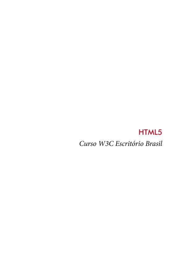 HTML5 curso en PDF