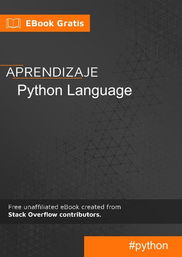 Empezando con lenguaje Python